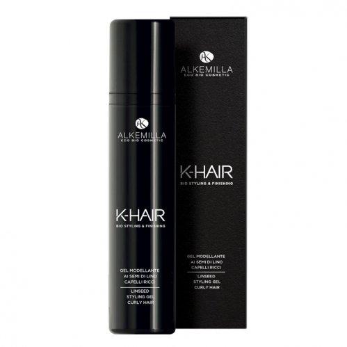 Gel Modellante per Capelli Ricci ai Semi di Lino - K-Hair