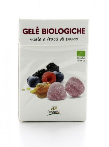 Gelè Bio con Miele e Frutti di Bosco