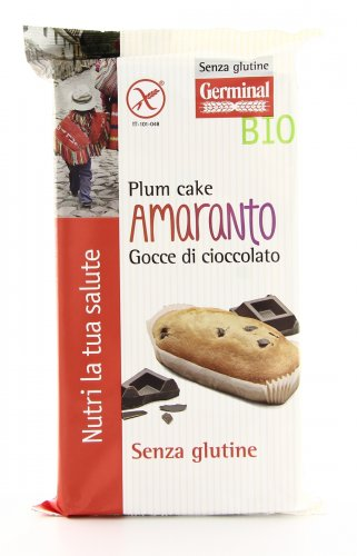Plumcake Senza Glutine - Amaranto Gocce di Cioccolato