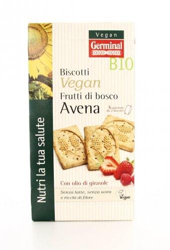 Biscotti Vegan - Frutti di Bosco Avena