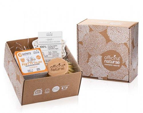 Gift Box Piatti Solido Arancio Dolce