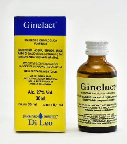 Ginelact Gocce - Soluzione Idroalcolica Floreale