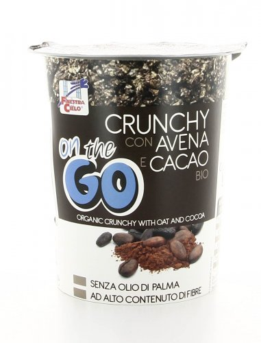 Crunchy con Avena e Cacao Bio - On the Go