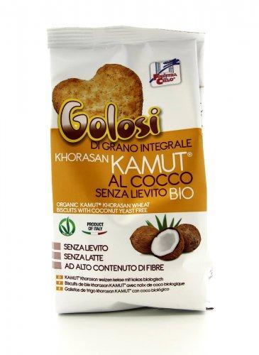 Golosi KAMUT® - grano khorasan integrali al Cocco Bio