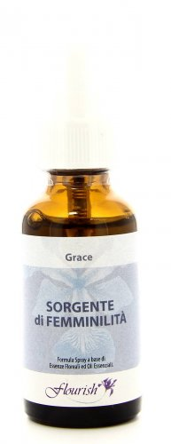 Formula Spray a Base di Essenze Floreali e Oli Essenziali - Grace