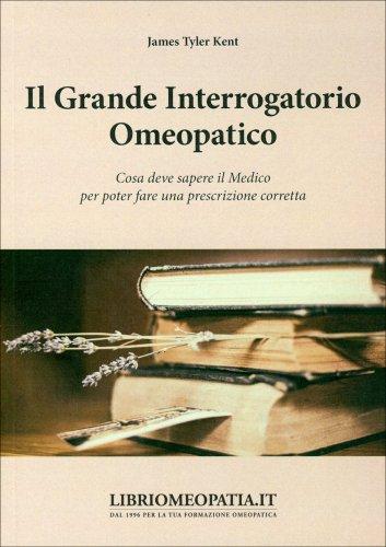 Il Grande Interrogatorio Omeopatico