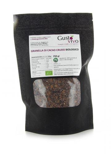 Granella di Cacao Crudo Biologico