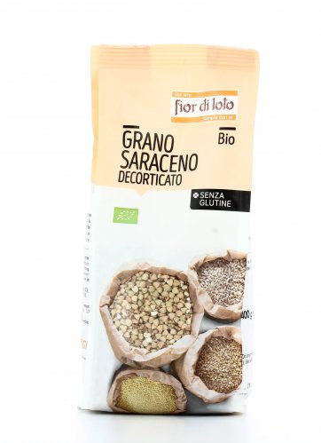 Grano Saraceno Decorticato Bio Senza Glutine