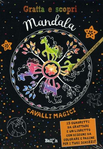 Gratta e Scopri Mandala - Cavalli Magici