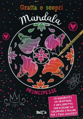 Gratta e Scopri Mandala - Principesse