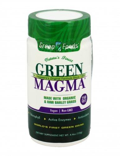 Green Magma in Compresse