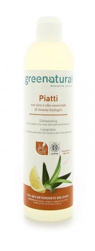 Detergente Piatti con Aloe o Olio Essenziale di Limone Biologici