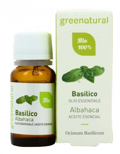 Olio Essenziale Basilico Bio
