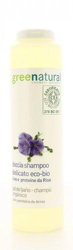 Doccia Shampoo Delicato - Eco-Bio Lino e Proteine del Riso