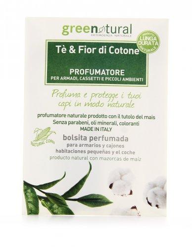 Tè e Fiori di Cotone Profumatore Lunga Durata