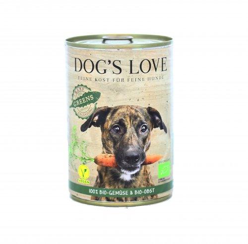 Mangime per Cani con Verdura e Frutta - Greens Dog's Love