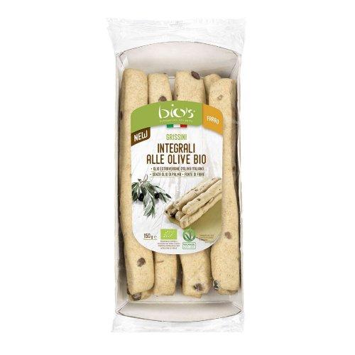 Grissini Integrali alle Olive Bio
