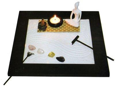 giardino zen yoga quadrato - Piccolo Giardino Quadrato