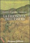 Henry David Thoreau la Filosofia dell'Essere (eBook)