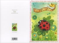 Happycard - Buona Fortuna Coccinella