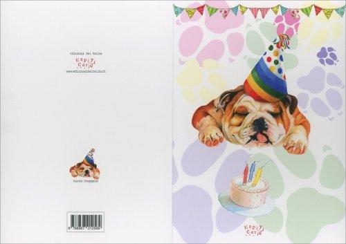 Biglietto d'Auguri - Happycard Cane Party