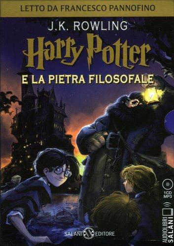 Harry Potter e la Pietra Filosofale Vol. 1 - Audiolibro Mp3
