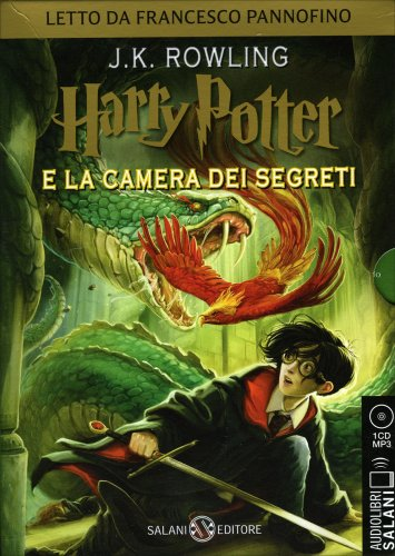 Harry Potter e la Camera dei Segreti - Audiolibro Mp3