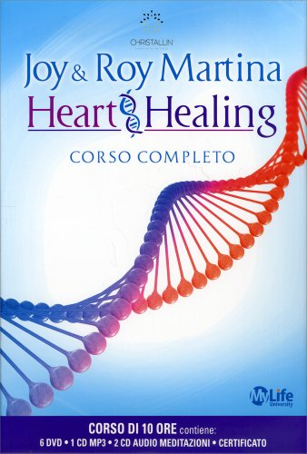 Heart Healing - Corso completo con 6 DVD, 1 CD Mp3 e 2 CD Audio