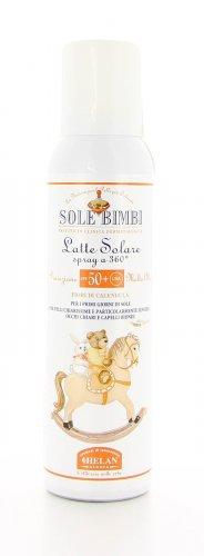 Latte Solare Spray Sole Bimbi Protezione Molto Alta Spf50