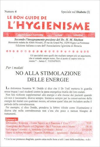 La Bon Guide de l'Hygienisme - Numero 4 - Speciale Diabete I