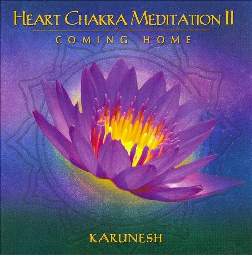 Favoloso Heart Chakra Meditation - Karunesh - CD JO97