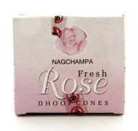 Satya Nag Champa - Incenso Fresh Rose - Coni