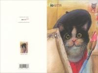 Iogatto Card - Pittore