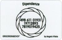Tessera Radionica 91 - Dipendenze