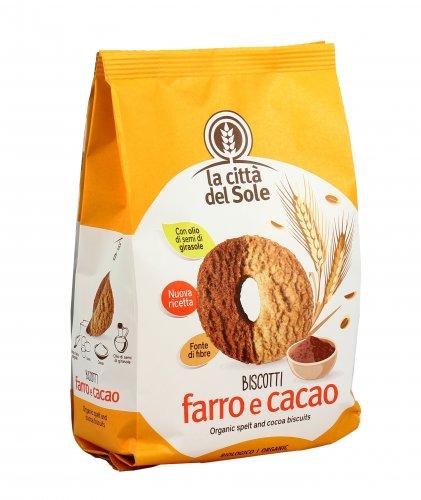 Biscotti Farro e Cacao Bio