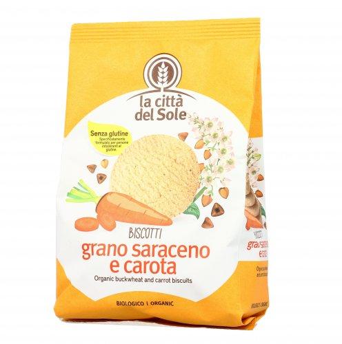 Biscotti di Grano Saraceno e Carota Bio