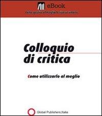 Il Colloquio di Critica (eBook)