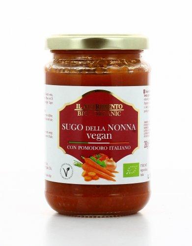 Salsa di Pomodoro con Verdure - Sugo della Nonna Vegan