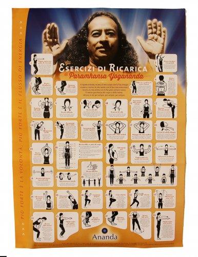 Poster degli Esercizi di Ricarica