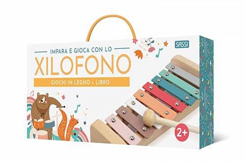 Impara e Gioca con lo Xilofono - Gioco in Legno