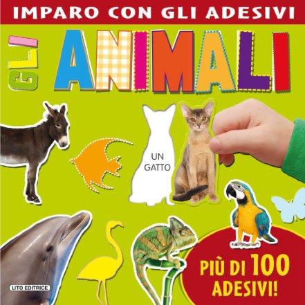 Imparo con gli Adesivi - Gli Animali
