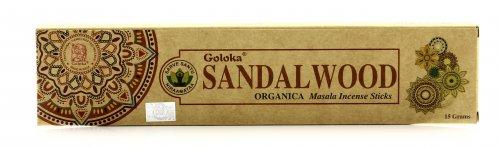 Incensi Goloka - Sandalwood Organica