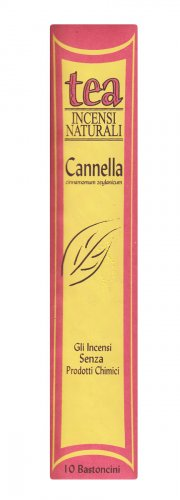 Cannella - Incenso Naturale - Bastoncini