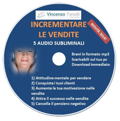 Incrementare le Vendite (Audiocorso Mp3)