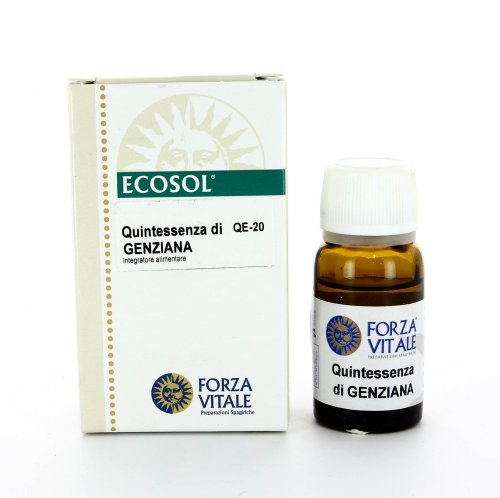 Quintessenza di Genziana - 10 ml.