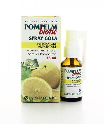 Integratore Pompelmbiotic Spray Gola Vegetale 100%