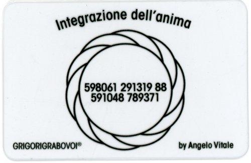 Tessera Radionica - Integrazione dell'Anima