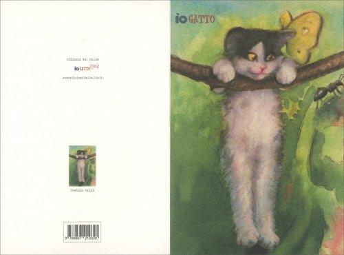 Iogatto Card - Gattino Appeso