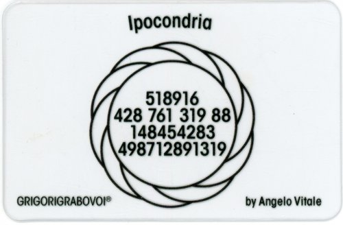 Tessera Radionica - Ipocondria