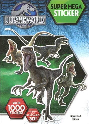 Jurassic World - Super Mega Sticker